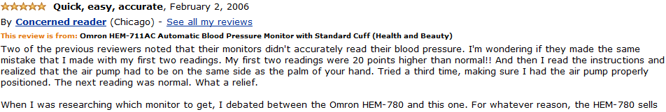 omron hem-711ac customer review 1