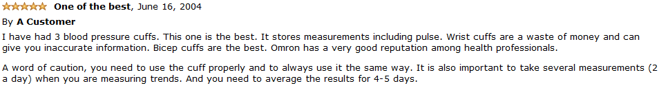 omron hem-711ac customer review 2